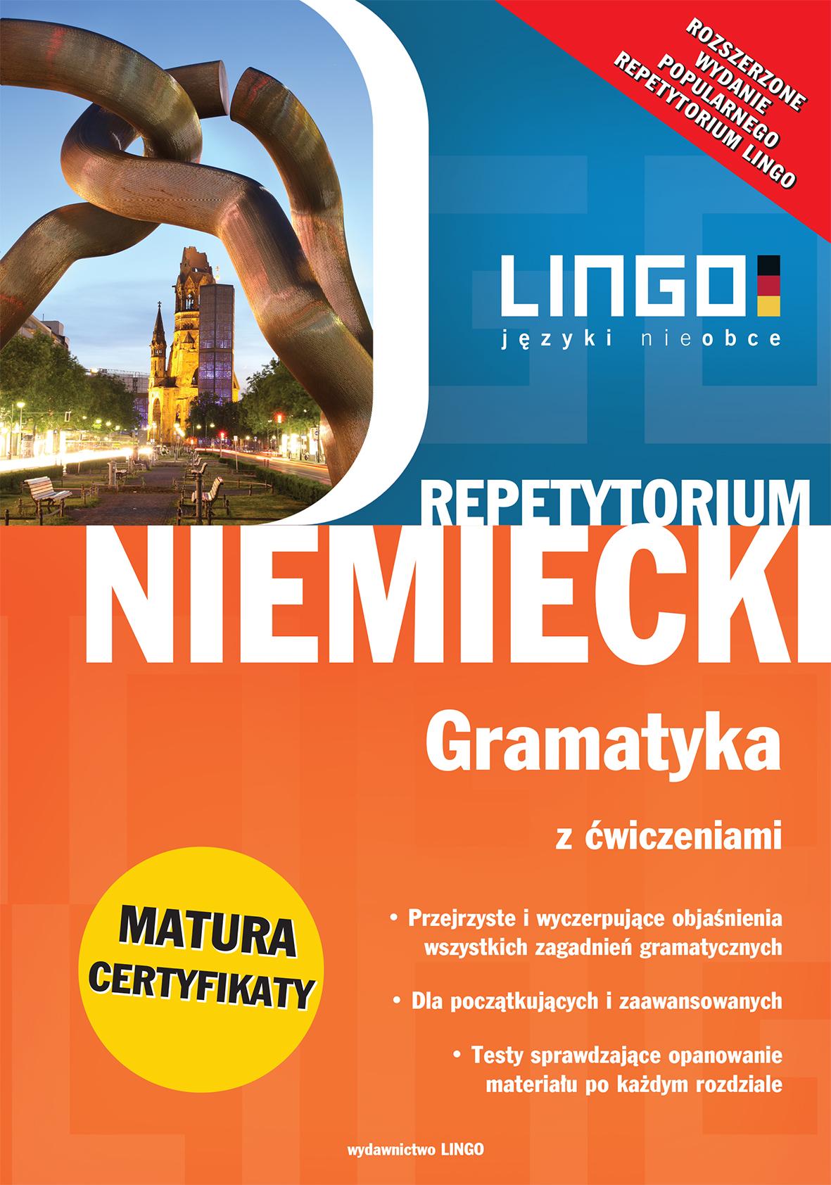 Lingo_Niemiecki_Gramatyka z cwiczeniami_Wyd rozszerzone