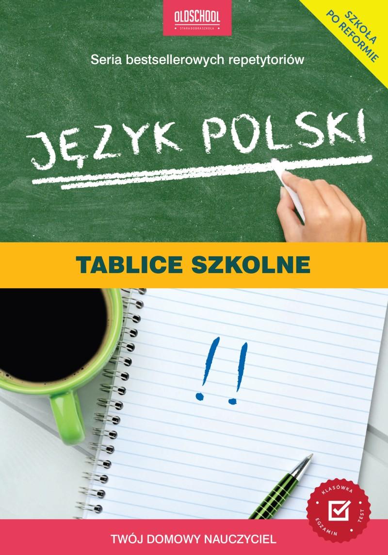 Oldschool_Jezyk polski Tablice szkolne